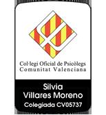 Silvia Villares Moreno. Colegiada CV05737
